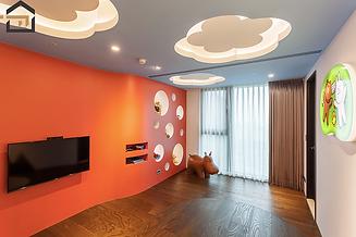 林口室內設計-世紀長虹-遊玩房-2
