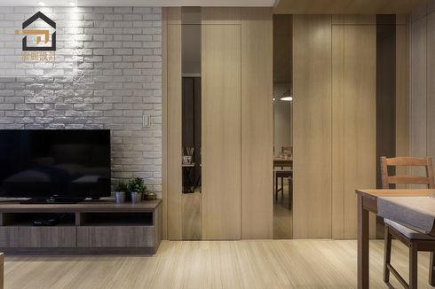 新店區公寓室內設計-玉上園-客廳3