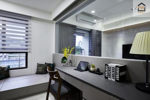 新店室內設計-勝旺有境-書房