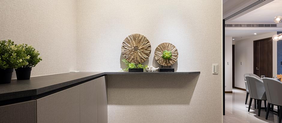 板橋室內裝潢-幸福新天地 沉穩綺麗兼具的三代居所