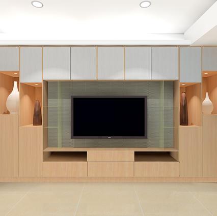 板橋室內設計-湛然幸福M