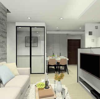 板橋室內設計-湛然幸福D