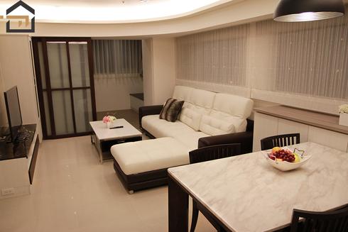 大安室內設計-公寓客廳-2