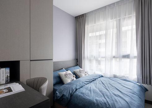 板橋室內設計-幸福新天地-次臥