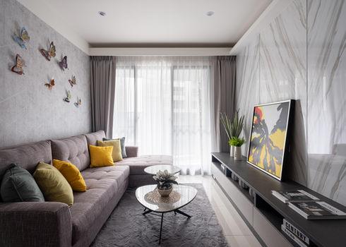 板橋室內設計-幸福小築-客廳2