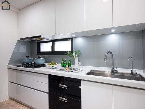 新店區室內裝潢-中興街公寓-廚房2