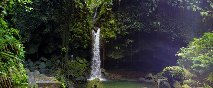 Emerald Falls - Grenada
