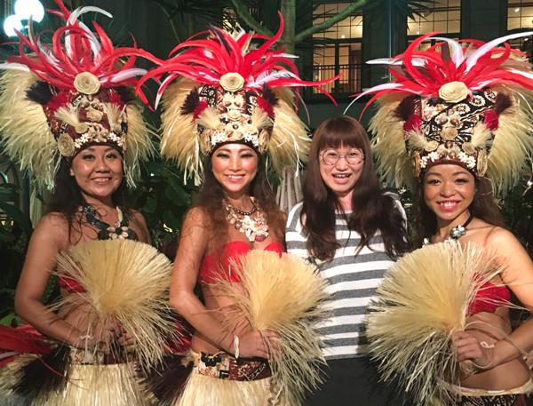 水戸市のタヒチアンダンススタジオ『タパトアタヒチ』様 水戸プラザホテルアトリウムショーに行ってきました!