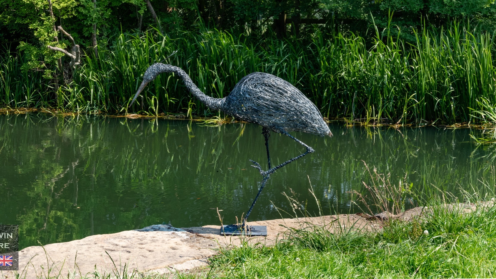 Heron by Canal