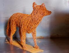 Fox Sculpture