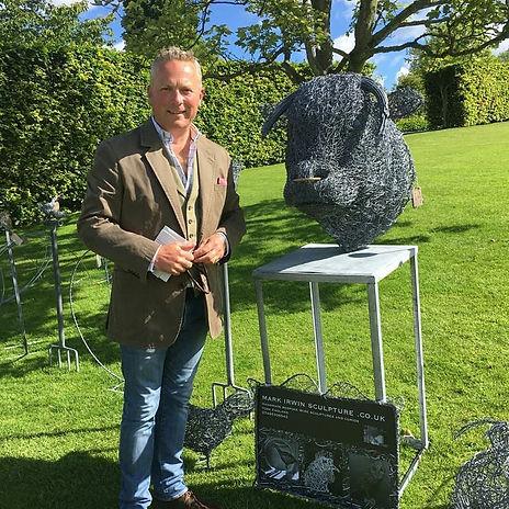 Jules Hudson with mark irwin sculpture.j