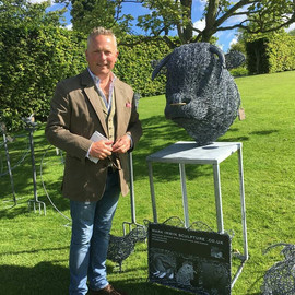 Jules Hudson with mark irwin sculpture.j