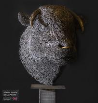 Life size Bull Head