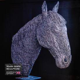 Horse head 1.2x life size