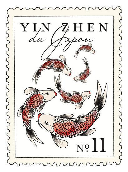 11.Yin Zhen du Japon: te blanco, gengibre, geranio, flor de vainilla