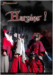 Déambulation de rues Harpies !