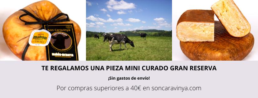 Promoción Queso Artesano Gran Reserva - Son Caravinya