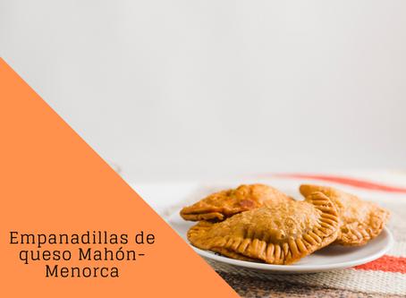 Empanadillas al horno de atún y queso Mahón-Menorca