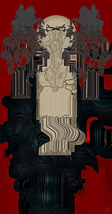 Hermetic Vessel Red