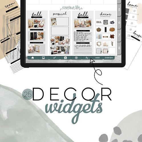 Decor Widgets