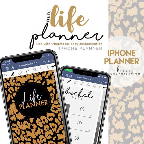 iPhone Digital Planner Leopard