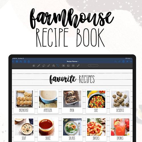 Farmhouse Recipe Planner