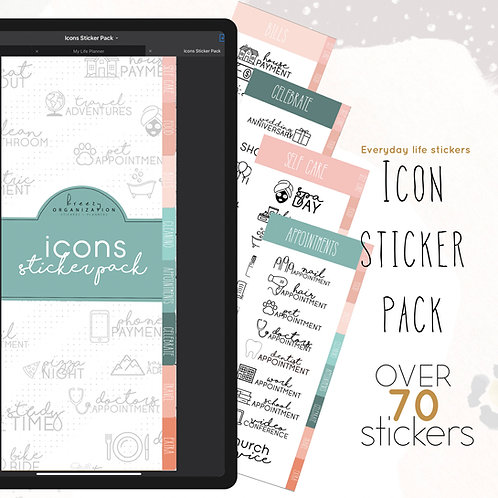 Icon Sticker Pack