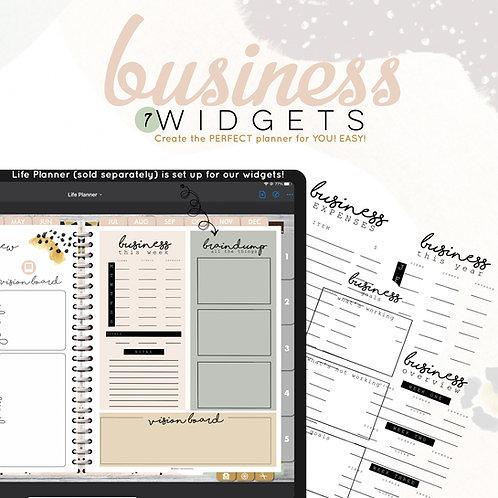 Business Widgets
