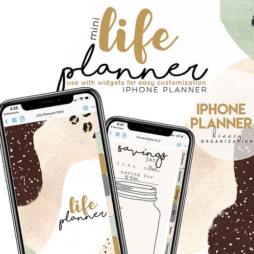 iPhone Digital Planner LIFE design