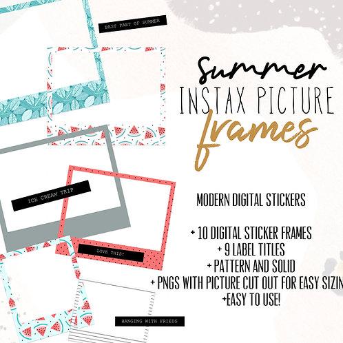 Summer Instax Frames