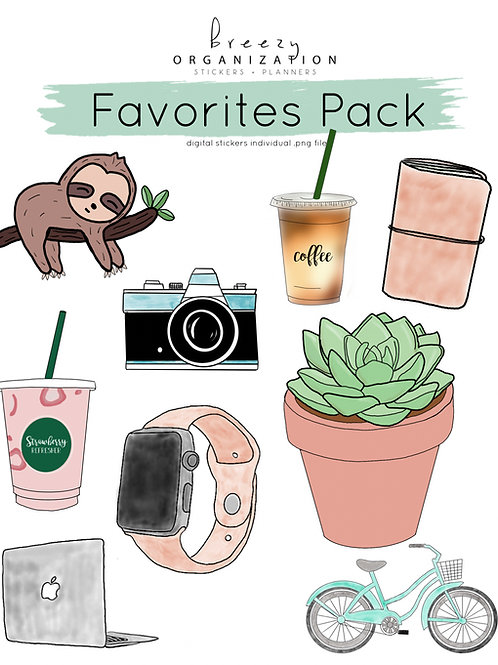 Favorite Digital Stickers #2