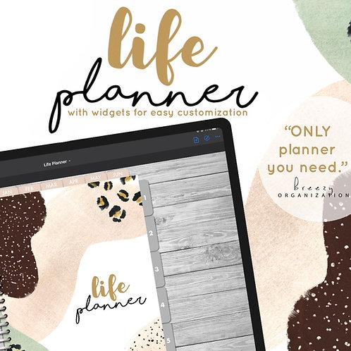 Life Planner | Undated Mon + Sun