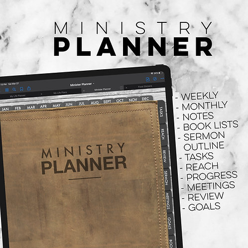 Ministry Planner