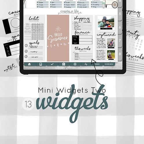 Mini Widgets TWO