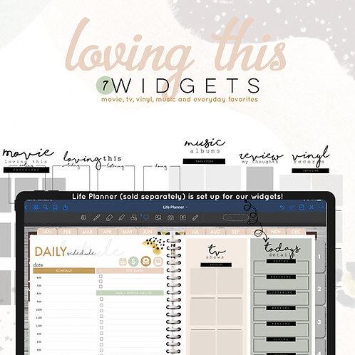 Loving This Widgets Pack