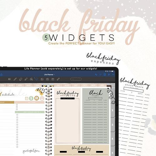 Black Friday Widgets