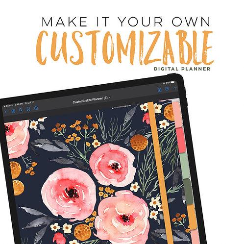 Customizable Planner