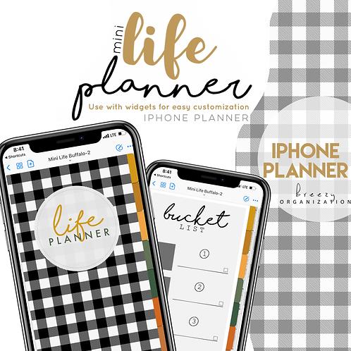 iPhone Digital Planner Buffalo Plaid