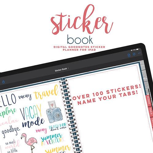 Goodnotes Sticker Planner + Stickers