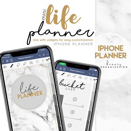 iPhone Digital Planner Marble