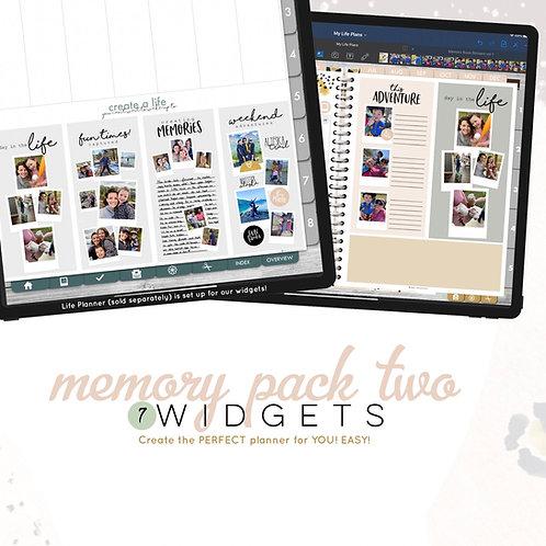 Memory Widgets 2