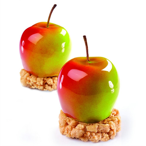 Modern Apple Crumble Mini Gateaux