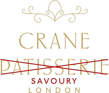 Crane Savoury Logo White Background Red