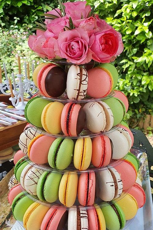 Macaron Floral Gift Arrangement