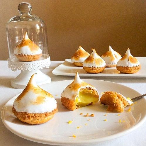 Key Lime Pie Choux Buns Set of 6