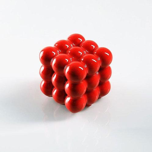 Summer Pudding 'Rubik Cube'