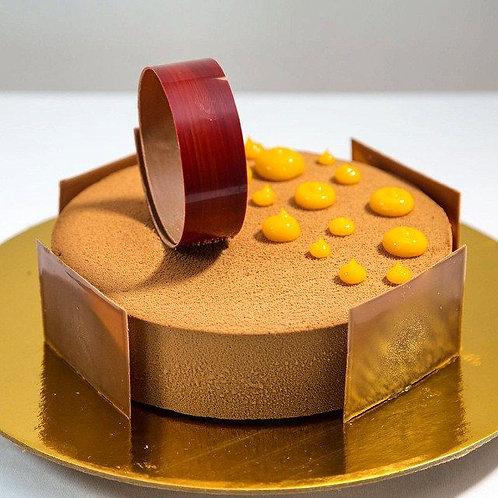 Seville Orange and Chocolate Gateaux