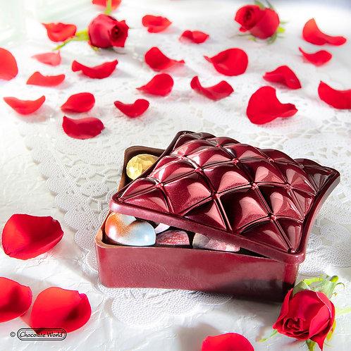 Chocolate Jewellery Box with 16 Chocolate Bon Bons