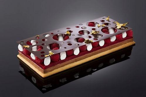 Raspberry and Vanilla Marshmallow Tart Fin