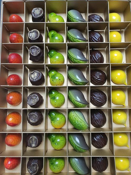 Mixed Box of 48 Chocolate Bon Bons - Set 1